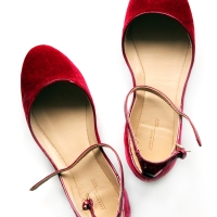Added to my wardrobe: Zara velvet slippers