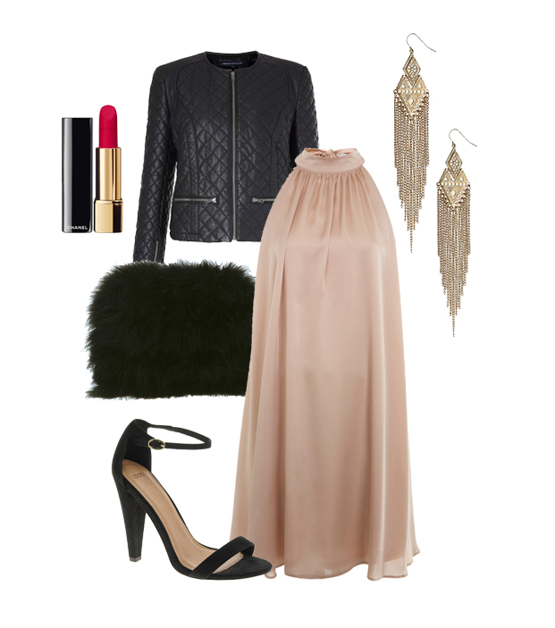 Outfit Inspiration for a modern classic timeless party look