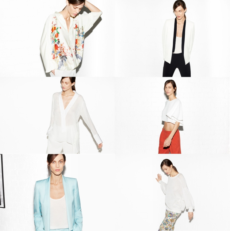 Zara April Lookbook