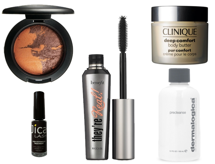 Beauty Essentials Mac Benefit Dermalogica Clinique