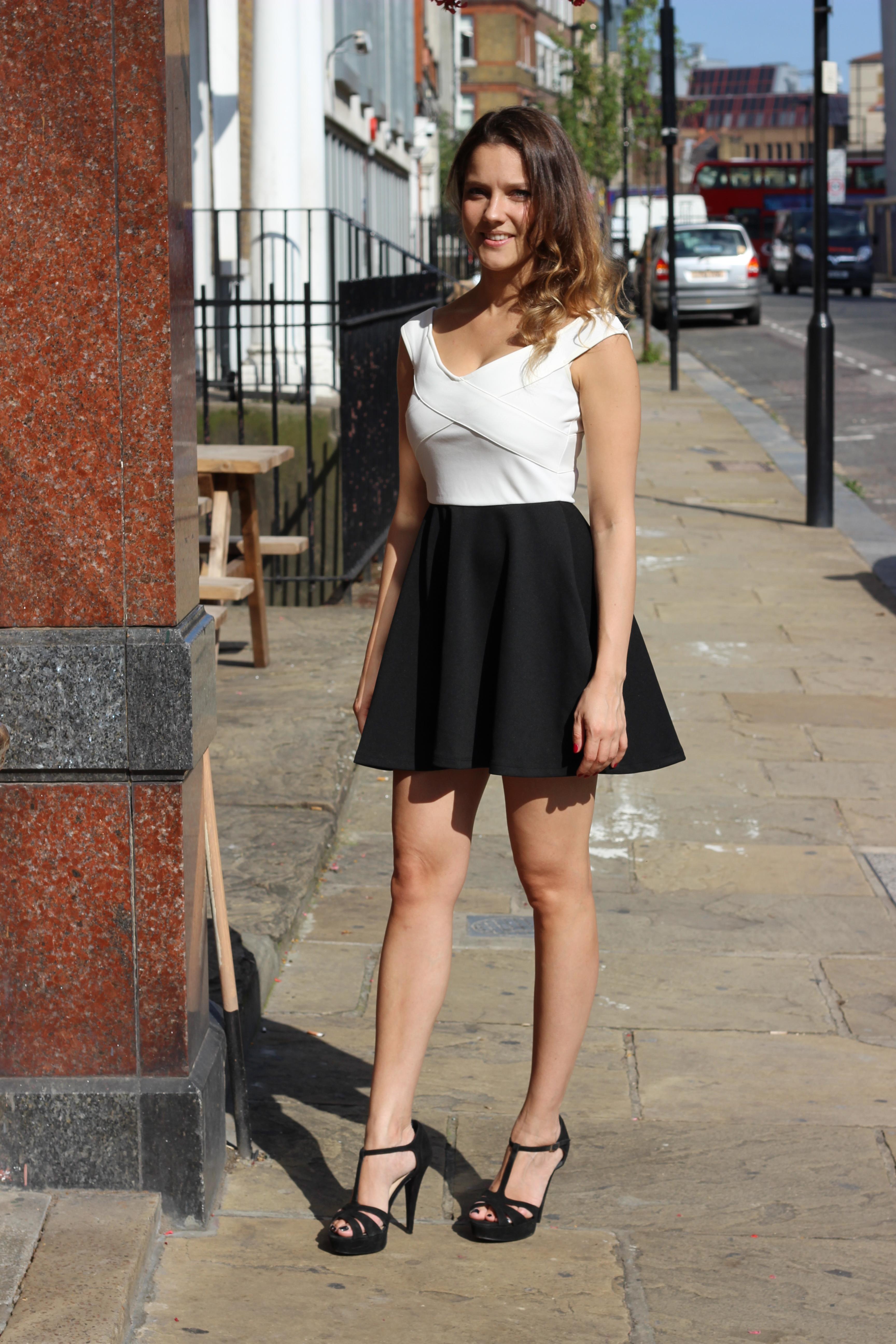 Skater skirt outfits tumblr