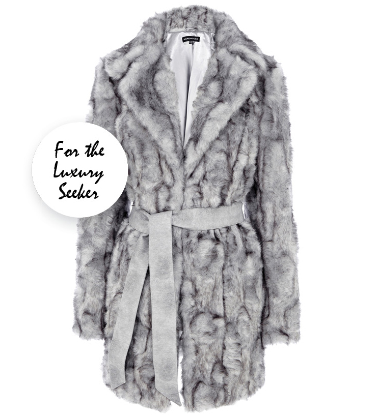 the_cou_gift_guide_warehouse_faux_fur_grey_coat