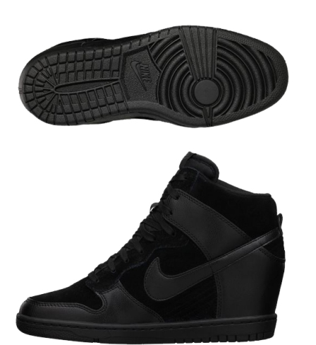 Nike Hi Dunk Black Women Fashion