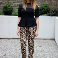 Outfit: Leopard Print Trousers