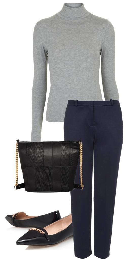 Back to Business September aw 2014 fashion blog the coup navy school grey winter