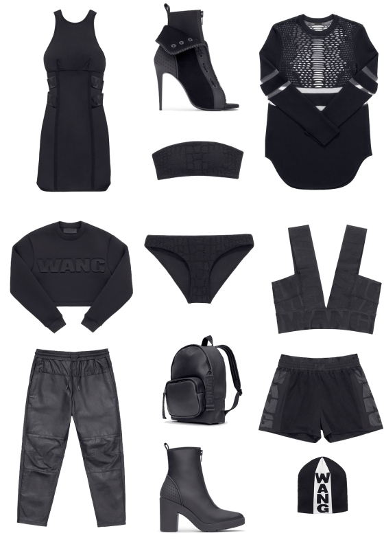 Alexander Wang X H&M Collaboration a-w swedish designer high street fashion affordable new
