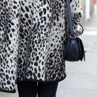 Outfit - Leopard Poncho