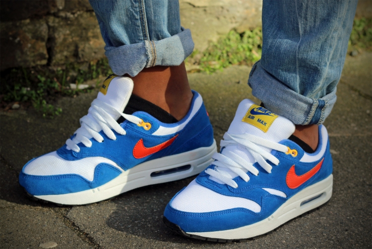 Nike Air Max Ones Orange Navy The Coup blog.jpg