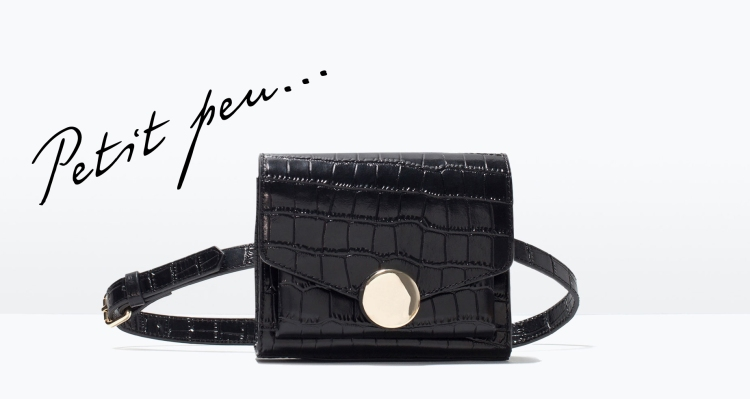 Zara Mock Croc bag The Coup Fashion London